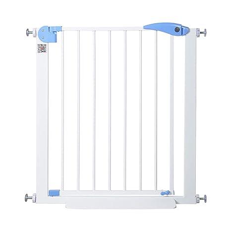 Puertas De Seguridad para Interiores Puerta Extra Ancha para Bebés con Puerta para Mascotas Se Adjunta A La Barandilla Puertas De Escaleras Barandilla Protector De Pared (Tamaño