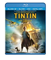 The Adventures Of Tintin Three-disc Combo Blu-ray 3d Blu-ray Dvd Digital Copy from Paramount Pictures