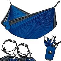 Legit Camping Double Hammock - Lightweight Parachute...