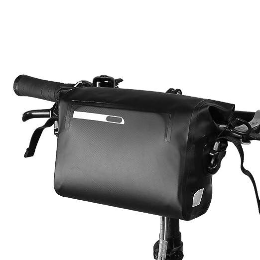 Bolsa de manillar para bicicleta Bolsa de bicicleta de ...