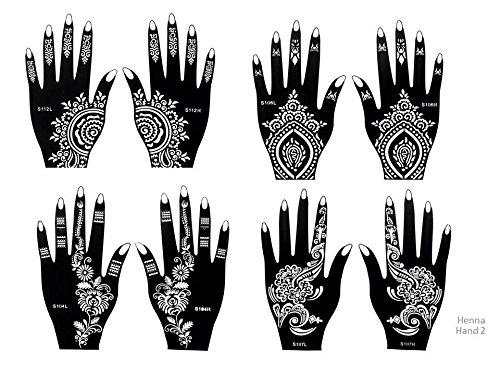 Henna Motive Gross Klein Henna Tatowierung 14