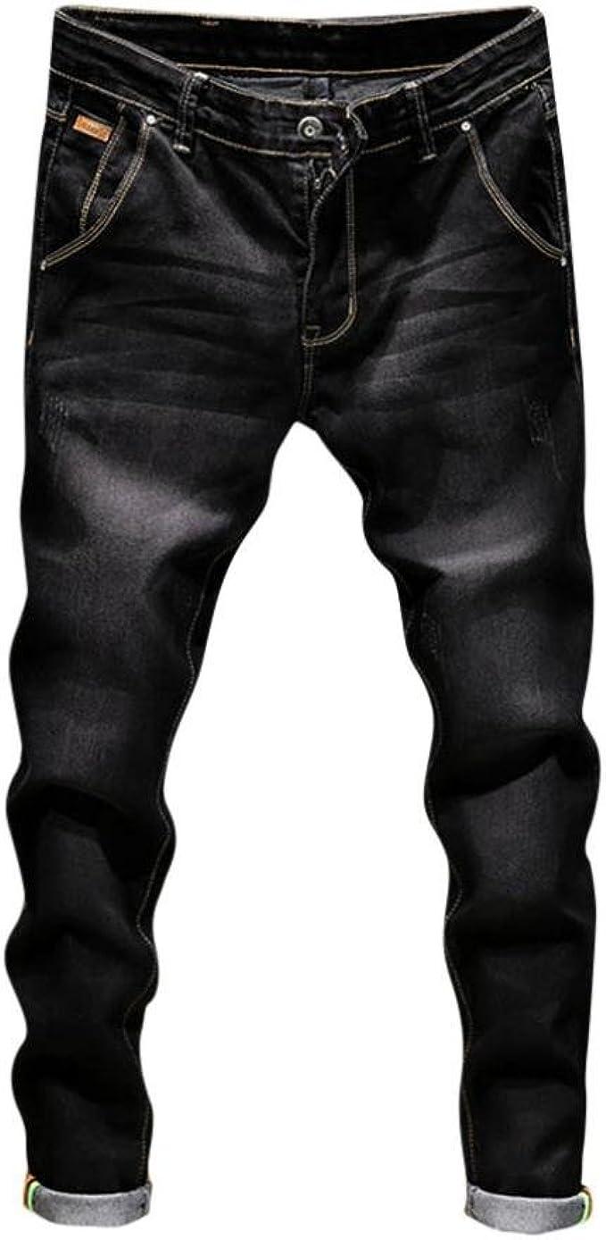 Pantalon Chino De Algodon Para Hombre Estrechos Calce Ajustado Elastizado Casual Pantalones Todos Los Tamanos De La Cintura Control Ar Com Ar