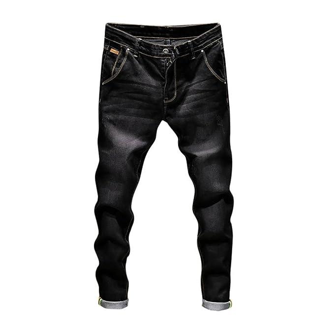 Amazon.com: ¡Promoción! Pantalones vaqueros para hombre ...