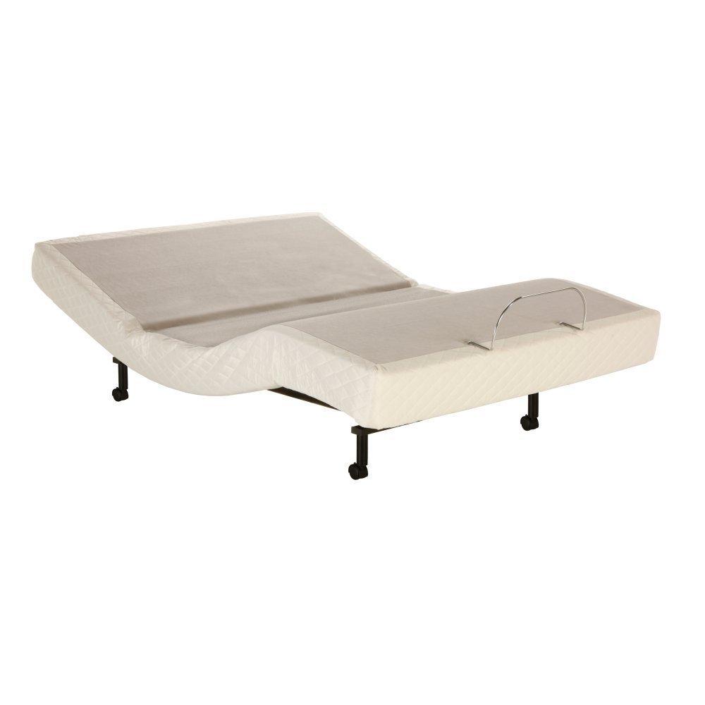 Adjustables by Leggett & Platt S-Cape Adjustable Bed Base, Wireless, Massage, Wall Hugger, Queen
