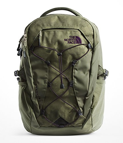 The North Face Women's Borealis Backpack - Four Leaf Clover Camo Print & Four Leaf Clover - ()