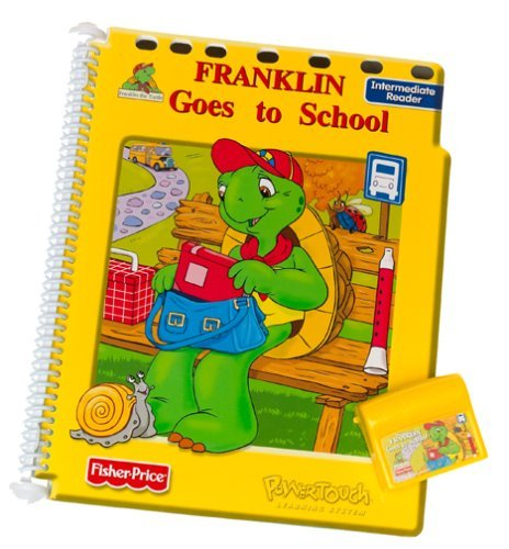 PowerTouch Learning System Book and Cartridge: Franklin Goes to School [並行輸入品] B077Y3MCZ1