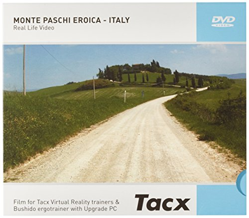 Tacx DVD Real Life Video Monte Paschi Eroica (Italy) (Tacx Dvd)