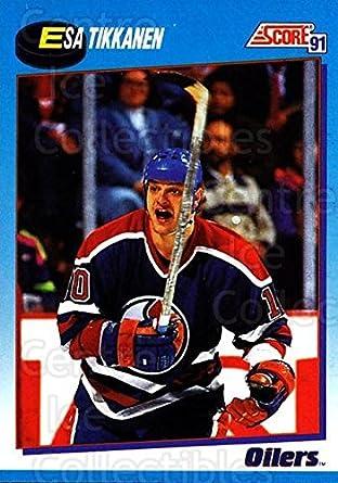 c7638d39a (CI) Esa Tikkanen Hockey Card 1991-92 Score Canadian Bilingual 461 Esa  Tikkanen