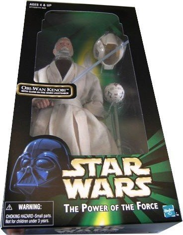 Wan Kenobi 12 Inch Figure - Hasbro Star Wars The Power of the Force 12