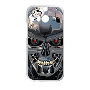 Terminator42.jpgHTC One M8 Cell Phone Case White GY073554