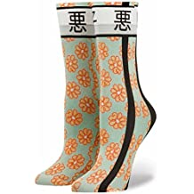 Stance Womens Bad Girl Rihanna Socks Green