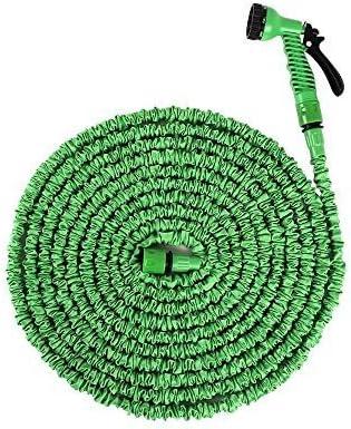 Tuyau Darrosage Ohuhu Nouveau 75ft22 Mètre Extensible Tuyau Darrosage Avec Plastic Connecteur Buse De Pulvérisation Vert