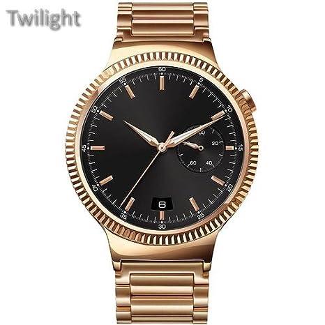 Huawei reloj 42 mm Smartwatch (oro rosa, de acero inoxidable ...