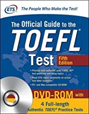 The official guide to the TOEFL test (+ DVD)