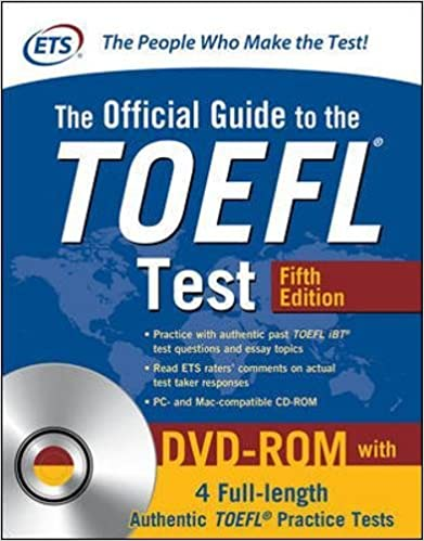 The Official Guide To Toefl Test. Con Dvd-rom por N/a Educational Testing Service epub