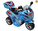 Baybee Samurai FX Battery Operated Sports Bike (Blue)
