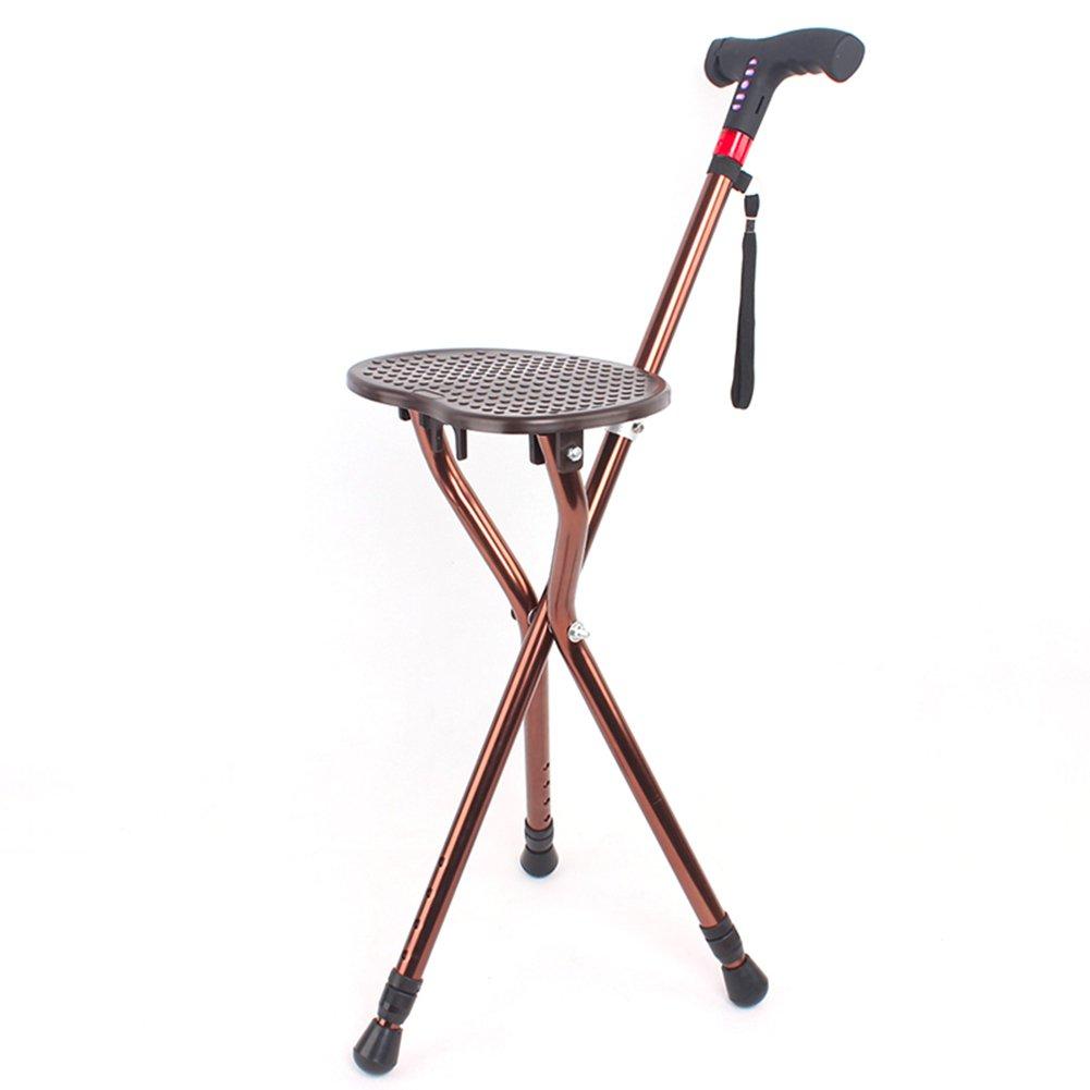大きな取引 折りたたみ 3脚杖 高齢者 折り畳み式 B07M8KPKWP 軽量 折りたたみ 3脚杖 高さ調節可能, 多機能 充電式 歩行補助杖 松葉杖 と Ledライト-C B07M8KPKWP, 河内町:76ffa331 --- a0267596.xsph.ru