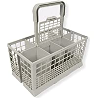 Universal Dishwasher Cutlery Basket (9.45 x 5.5x 4.7) fits Kenmore, Whirlpool, Bosch, Maytag, KitchenAid, Maytag, Samsung, GE, and more
