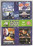 4DVD Sci-fi Film Pack - Virus, The Final Countdown, The Sender, Sci-Fighters