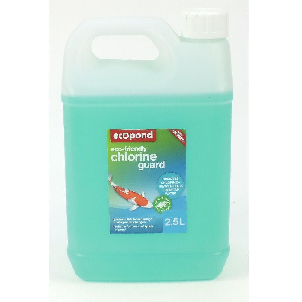 Eco Pond Chlorine Guard Tap Water Dechlorinator 2.5 Litre