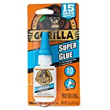 Gorilla 7805002-24PC Gravity Super Glue, 24-Pack, Clear