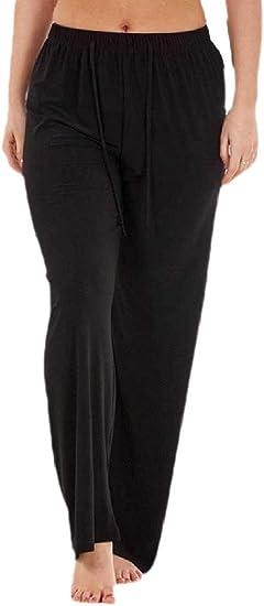 chenshiba-JP 女性ルーズフィットファッションヨガパンツパラッツォスポーツドローストリングストレートパンツ用