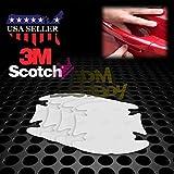 JDMBESTBOY 4PCs 3M Scotchguard Clear Door Handle Paint Scratch Protection Protector Protective Guard Film Bra Vinyl