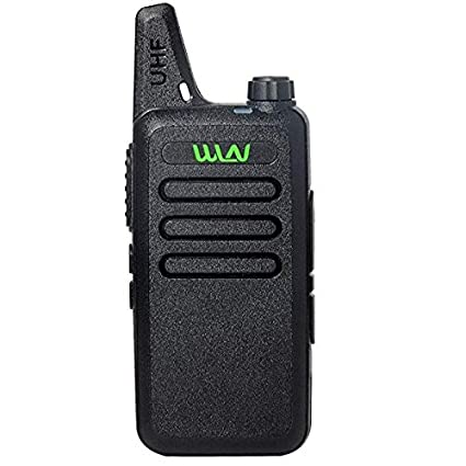 Amazon.com: WLN Mini UHF 400-470 MHz mano KD-C1 Walkie ...