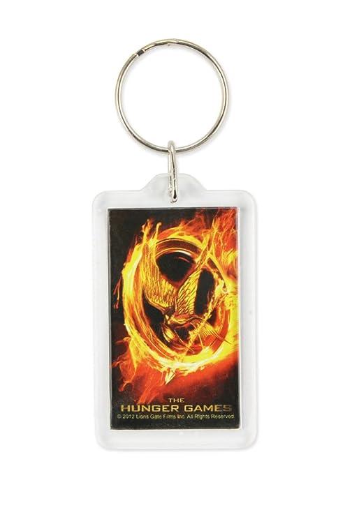NECA - Llavero de los Juegos del Hambre Lucite Katniss ...