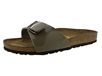 8f7598a4d18e6 Birkenstock Kids Girls' MADRID BF LACK Sandals: Amazon.co.uk: Shoes & Bags