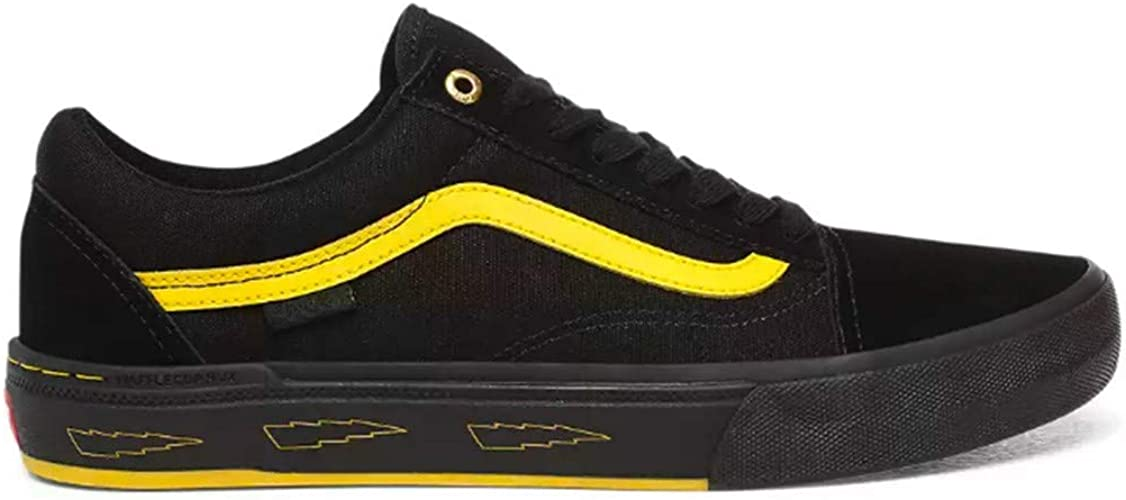 Chaussures Larry Edgar Old Skool PRO BMX Noir noir, 41