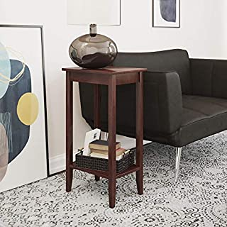 DHP Dorel Home Products 5138096 End Table, Wood and Wood Veneer, 12 X 28-Inches, Coffee Brown (B005QLJL76) | Amazon price tracker / tracking, Amazon price history charts, Amazon price watches, Amazon price drop alerts