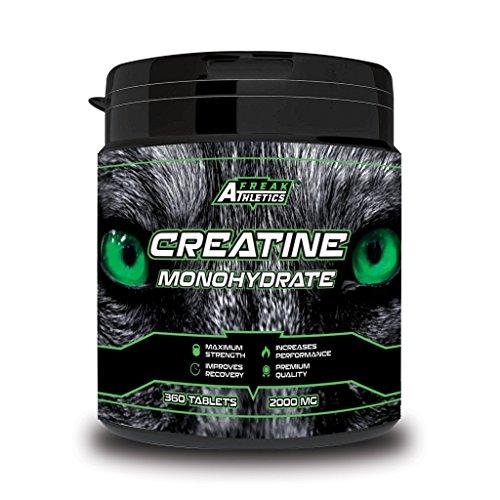 Creatine Monohydrate - 360 x Creatine Tablets - Premium Grade Micronised...