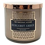 Everyday Luxe Bergamot Amber Scented 3 Wick Candle
