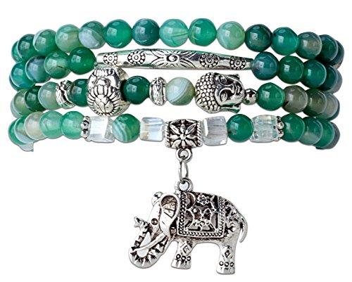 Beginnings Elephant Bracelet SPUNKYsoul Collection