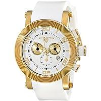 Swiss Legend Men's 30465-YG-02 Cyclone Analog Display Swiss Quartz White Watch
