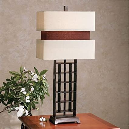 Stylecraft Home Collection Contours Table Lamp Bronze
