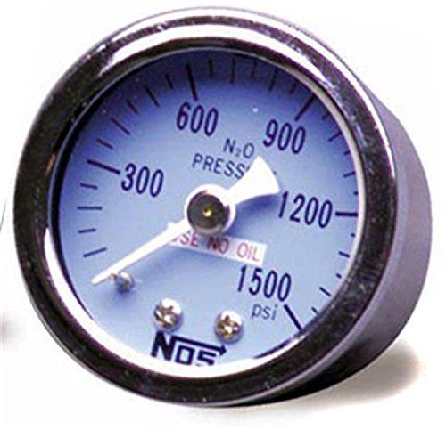 NOS 15912 NOS 0-500 psi Nitrous Pressure Gauge
