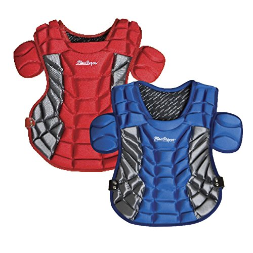 MacGregor MCB81 Female Chest Protector (Scarlet)