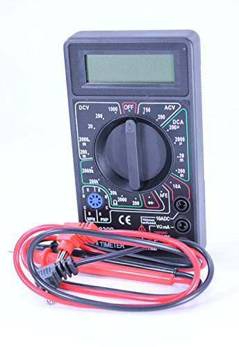 SEOH Digital Multimeter for Physics for volts Amps and ()