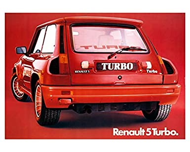 Renault 5 Turbo Factory Photo: Entertainment Collectibles