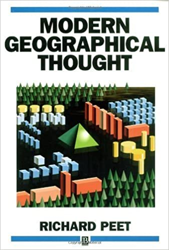 Modern Geographical Thought by Peet, Richard (1998)