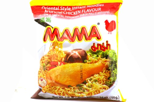 (Oriental Style Instant Noodles (Artificial Chicken Flavor) - 1.94oz (Pack of 30))