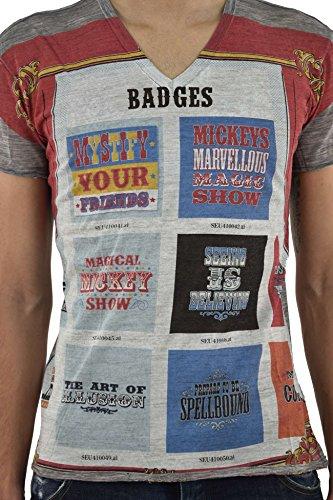 Dolce&Gabbana Men's T-SHIRT Badges - size 44/46