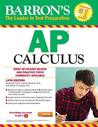Barrons Ap Calculus  14Th Edition