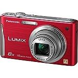 Panasonic Lumix DMC-FH27 16.1 Megapixel Compact Camera - 5 mm-40 mm - Red