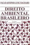 capa de Direito Ambiental Brasileiro