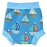 Splash About Kids' Reusable Swim Happy Nappy - Set Sail, 2X-Large (24+ Months)