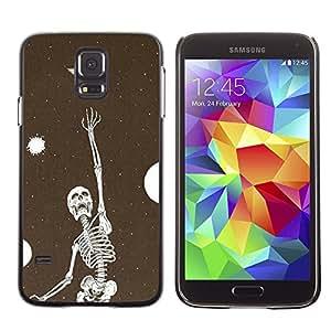 Be Good Phone Accessory // Dura Cáscara cubierta Protectora Caso Carcasa Funda de Protección para Samsung Galaxy S5 SM-G900 // Skeleton Vignette Dream Deep Meaning