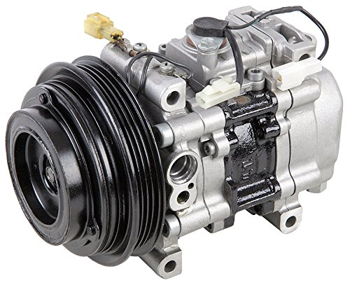 Mazda Miata Ac Compressor (Remanufactured Genuine OEM AC Compressor & A/C Clutch For Mazda Miata - BuyAutoParts 60-00785RC Remanufactured )